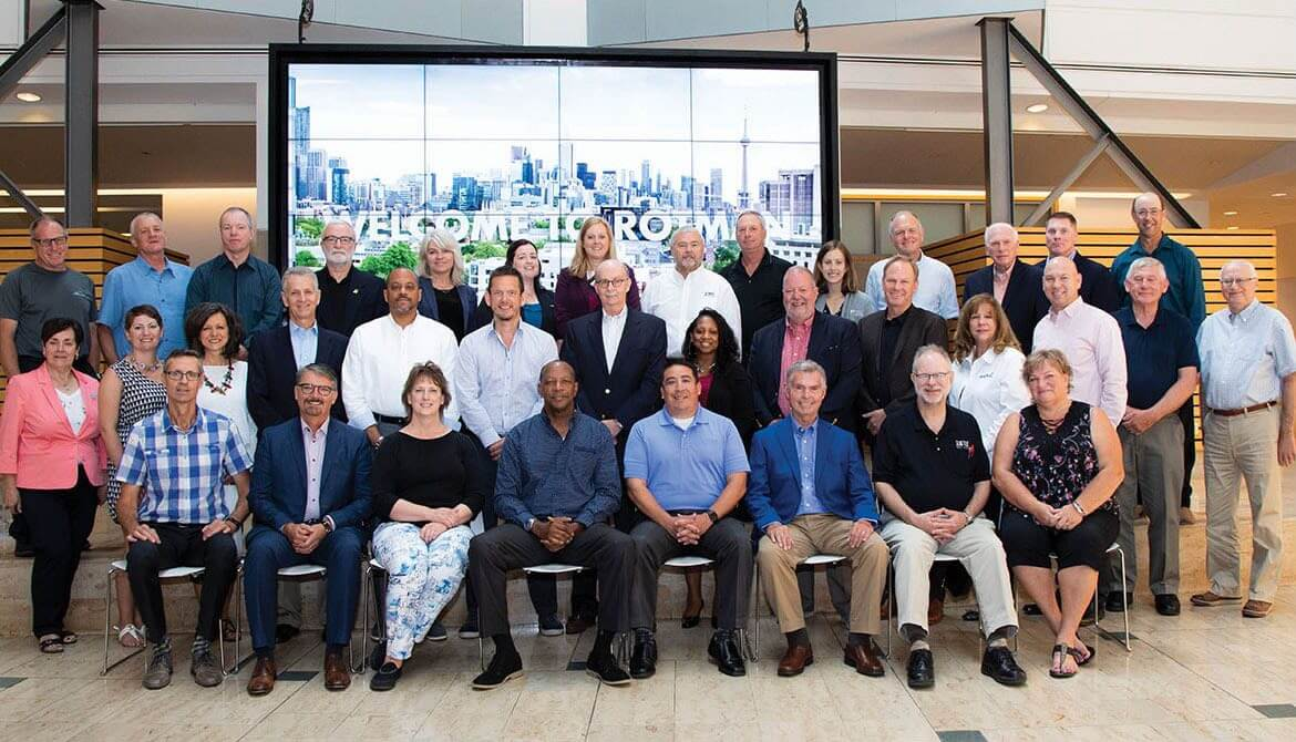 Credit union attendees of the 2018 CUES Governance Leadership Institute in Toronto