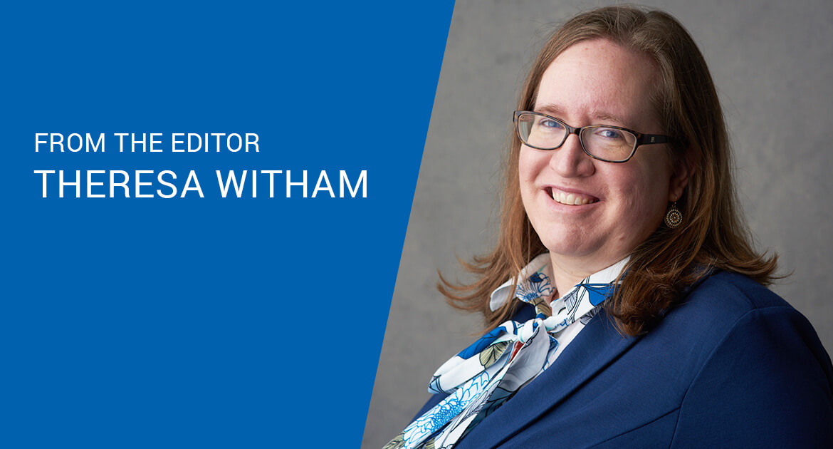 Theresa Witham, managing editor and publisher at CUES