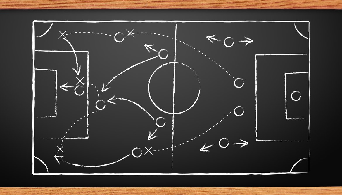 chalkboard sports plays