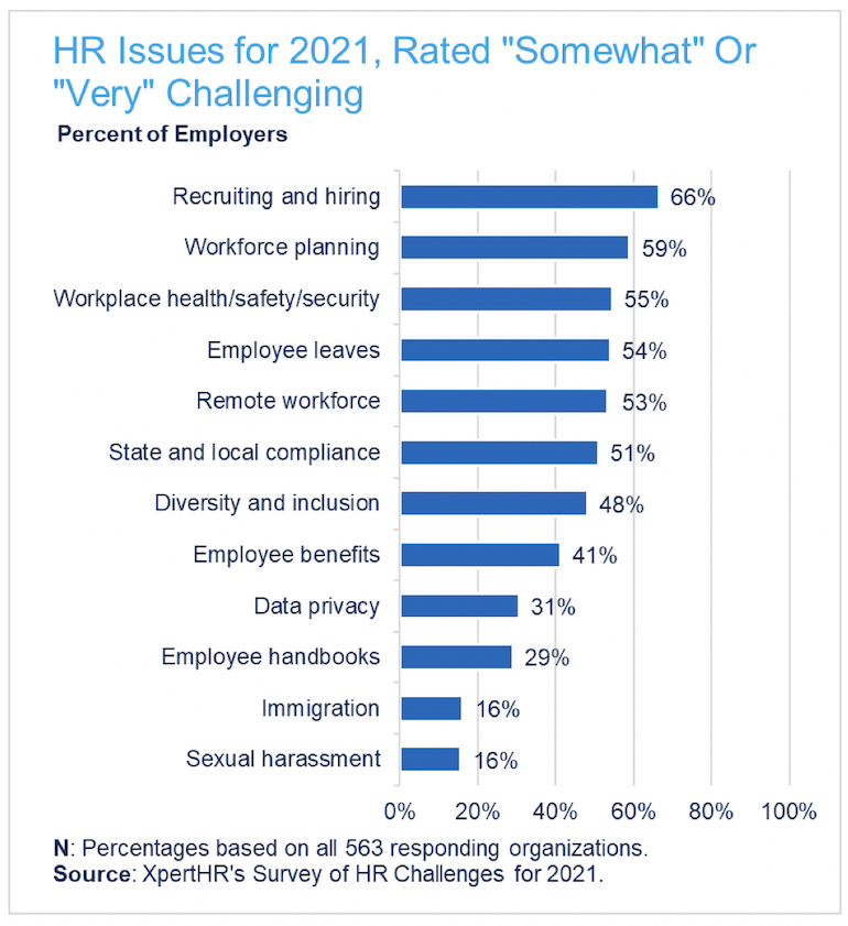 HR Issues for 2021