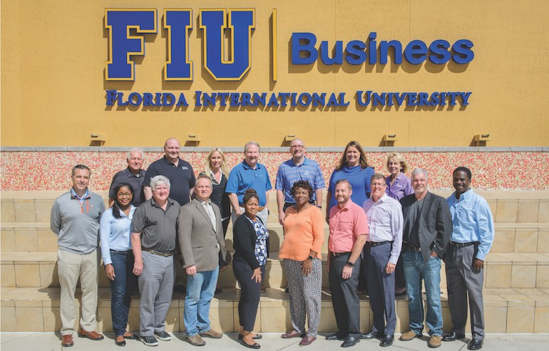 2018 credit union attendees of the 2018 CUES Governance Leadership Institute in Miami