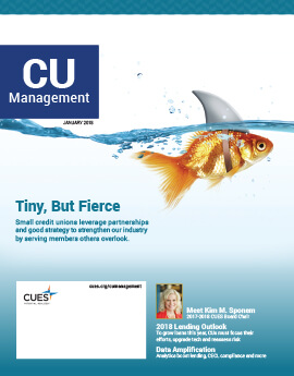 January 2018 Issue CU Management Cover