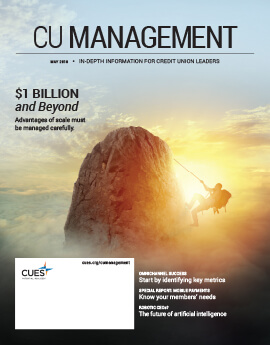 May 2018 Issue CU Management Cover