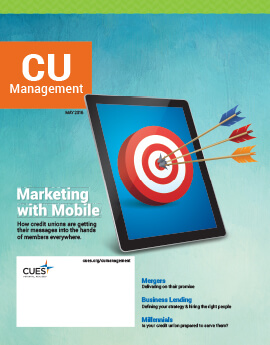 May 2016 Issue CU Management Cover