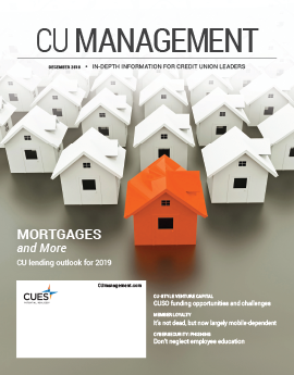 December 2018 CU Management Cover Image