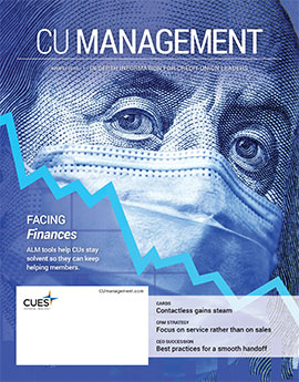 August 2020 CU Management Magazine cover