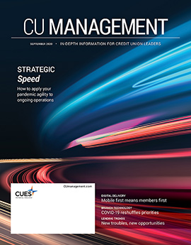 September 2020 CU Management magazine