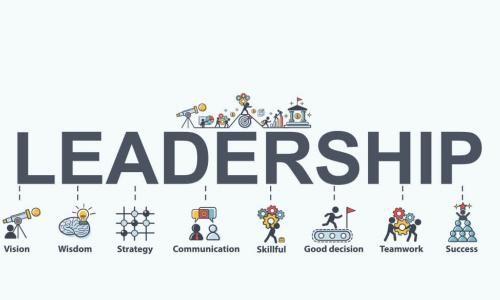 graphic depicting qualities of great leadership