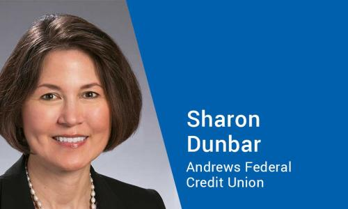 Sharon Dunbar, Supervisory Committee and ALCO member at Andrews FCU