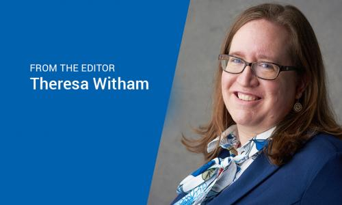 managing editor and publisher Theresa Witham