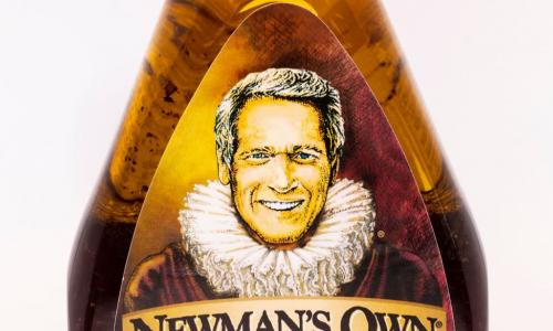 newman's own salad dressing bottle