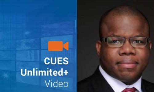 Video tile with image of Kwesi Charles