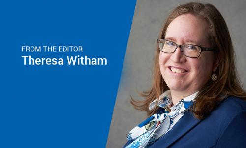 Theresa Witham, CUES Managing Editor and Publisher
