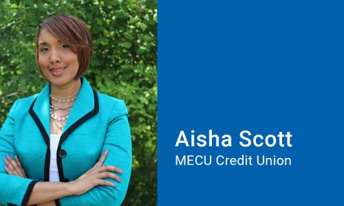 Aisha Scott of MECU Credit Union
