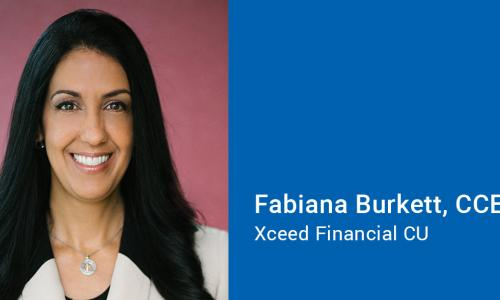 Fabiana Burkett of Xceed Financial Credit Union