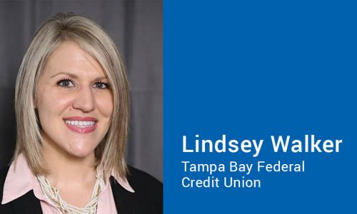 Lindsey Walker of Tampa Bay Federal Credit Union