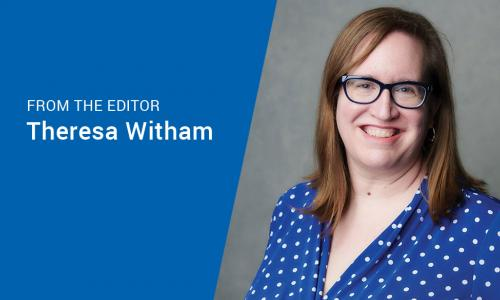 CUES managing editor and publisher Theresa Witham